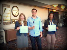 Award WinnersEmma, Zach, and Lwam